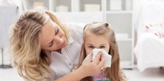 izduvavanje nosa kod deteta