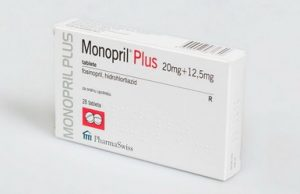 Monopril Plus 20 mg
