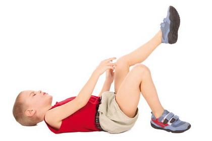 Bolovi u nogama zbog rasta