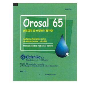 Orosal 65 prašak za oralni rastvor
